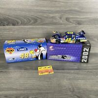 Action Jimmie Johnson #48 Lowe's Looney Tunes Rematch 2002 1:24 Scale