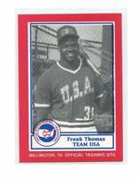 1990 BDK 1987 USA National Team #23 Frank Thomas Rookie Card
