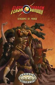 Flash Gordon - 2 Kingdoms Of Mongo Libro de Tapa Dura