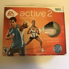 EA Sports Active 2 Personal Trainer Nintendo Wii Game New Open Box