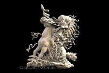 3D STL Models for CNC Router 3D Printer Artcam Vetric aspire...639