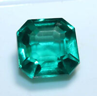 15.55 Ct Certified African Natural Green Sapphire Cushion Cut Loose Gemstone