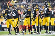 PITTSBURGH STEELERS OFFENSE VS RAVENS ON 11/4/18 COLOR 8X10 9 PLAYERS
