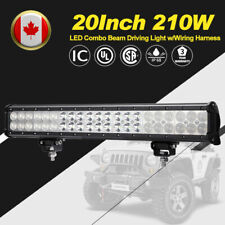 20 Inch 210W Philips LED Work Light Bar Spot Flood Combo Beam 4WD Driving Lights