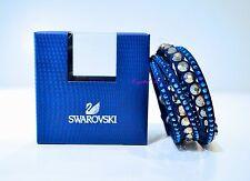 Swarovsk Slake Dark Blue Dot Bracelet 5240624 Authentic Brand New In Box