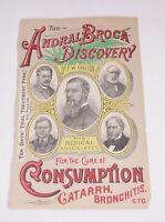 Victorian Era QUACK MEDICINE ANDRAL BROCA DISCOVERY CURE CONSUMPTION Lungs