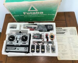 FUTABA CONQUEST FM Digital Radio Control System FP-T4NBF - Complete in Box