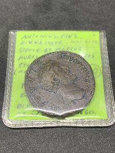 Roman Coin  ANTONINUS PIUS  Sestertius