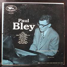 Paul Bley - Paul Bley LP VG MGW-60001 Mono 1954 Wing USA Vinyl Record