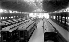 8x10 Print Jersey City Train Shed c.1900 #2016709