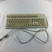 Vintage Hewlett Packard Beige Clicky Computer Keyboard D4950B UNTESTED PARTS