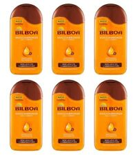 6pz BILBOA DOCCIABRONZE Oil Carrot doccia oil nutriente 250ml NUOVO corpo bagno