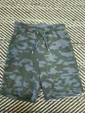 Cat & Jack Little Boys Camouflage Shorts Green Size Xs 4/5 Years Old