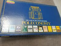 Vintage Retro Poleconomy 1980 boxed board game Economy Finance Banker Spears