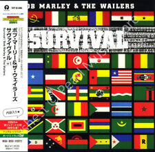 BOB MARLEY AND THE WAILERS SURVIVAL CD MINI LP OBI album new sealed reggae