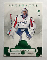 BRADEN HOLTBY - 2017-18 UPPER DECK ARTIFACTS EMERALD GREEN #ed 11/99