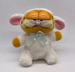 Vintage Dakin Stuffed Garfield Lamb Plush 1981