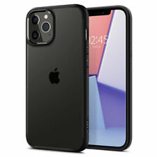 iPhone 12 Pro, 12 Case, Spigen Ultra Hybrid Protective Cover - Matte Black