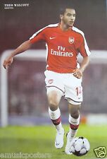"""THEO WALCOTT """"CONTROLLING THE FOOTBALL""""  POSTER -FC Arsenal, Soccer, Premier Cup"""
