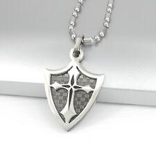c35393574ade4 ... colliers et pendentifs pour homme. Tout afficher · pendentif acier  inoxydable argent noir croix templier collier chaîne homme femme