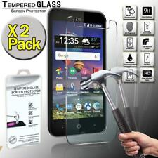 2 Pack Tempered Glass Screen Protector Cover For ZTE ZFive 2 LTE