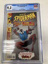 Marvel Comics Web of Spider Man 118 CGC Graded 9.2