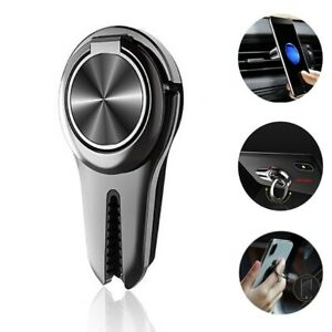 Multi-Function universal Finger Ring Grip Stand Holder & Car Air Vent 360 Mount