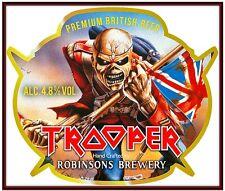 Iron Maiden-The Trooper Premium British Beer Heavy Metal Sticker, Magnet