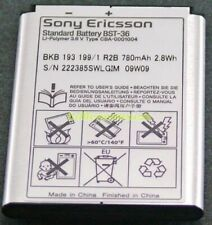 New Oem Sony Ericsson Bst-36 J200 J220I J300 K310I K750 K510 Battery