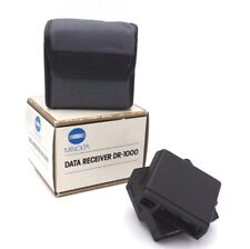Minolta DR-1000 Data Receiver for use with Flash Meter IV, Boxed with Soft Case