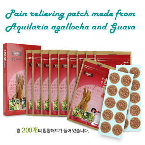 Korean Muscular Pain Relieving Relief patch (Chimhyang Pad)
