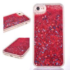 Glitter Liquid Moving Star Bling Cover Back Case iPhone for 5 SE 6 6S 7 7 8 PLUS