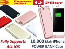 10000mAh Portable External Power Bank Battery Charger Case iPhone 6 6s 7 8 Plus