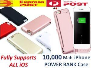 10,000mAh Portable External Power Bank Battery Charger Case iPhone 6s Plus 6 7 8