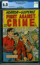 Fight Against Crime 5 CGC 6.0 - OW/W Pages