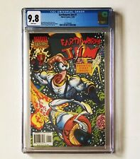 Earthworm Jim #1 Cgc 9.8 Marvel Comics 1995 from Video Game Frantic First Issue