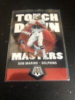 2020 Panini Mosaic Touchdown Masters  #TM12  DAN MARINO  ~  Dolphins