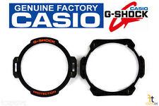 CASIO G-1400 G-Shock Original Black Rubber Watch Bezel (Top/Bottom) Case GW-4000