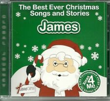 JAMES - THE BEST EVER CHRISTMAS SONGS & STORIES PERSONALISED CD