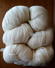 100% Merino Wool Yarn (6 Lb Bulk) Fingering Weight (undyed) Ethically-Sourced