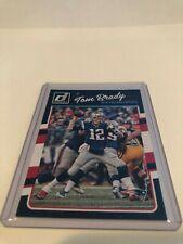2016 Donruss Football Tom Brady New England Patriots base card #180