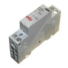 40A Contactor 1 Pole 230V 1 Normally Open N/O AC/DC Coil Modular DIN Rail Garo