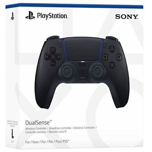 Official Sony PlayStation 5 DualSense Wireless Controller - Midnight Black (PS5)