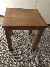Solid Oak Side Table Next