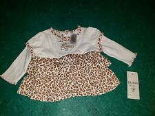 Guess Baby 3-6 Months Brand New With Tags Leopard Animal Print Dress
