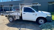 2013 Toyota Hilux Single Cab ute with Ladder racks 169000k's Manual 2.7L