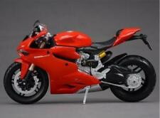 Ducati 1199 Motorcycle Vehicle Model 1/12 Scale Maisto Red Diecast Moto Hot Toy