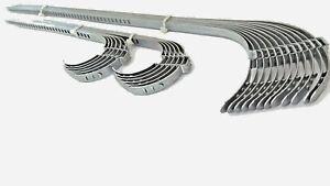 Schellen für Achsmanschetten 25 St. 7 mm  (12x lang + 12x kurz + 1 St. GRATIS )