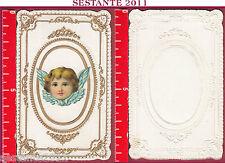 2088 SANTINO HOLY CARD IMMAGINE PUTTINO ANGIOLETTO ANGELO RILIEVO
