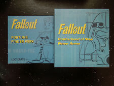 Fallout: Brotherhood of Steel Power Armor Variant & Fortune Finder Figures Loot